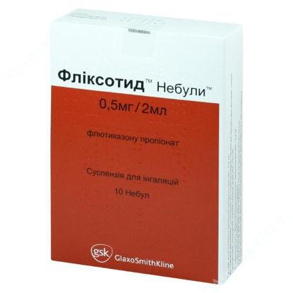 Изображение Фликсотид небулы суспензия для ингаляций 0,5 мг/2 мл №10