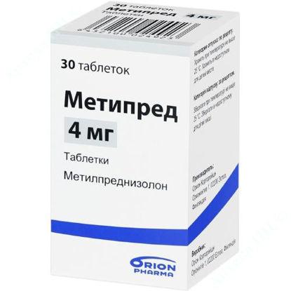Зображення Метипред табл. 4 мг №30