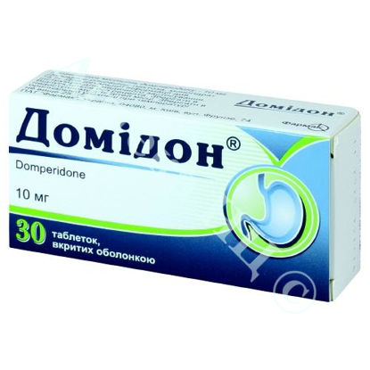 Зображення Домідон таблетки  10 мг №30 Фармак