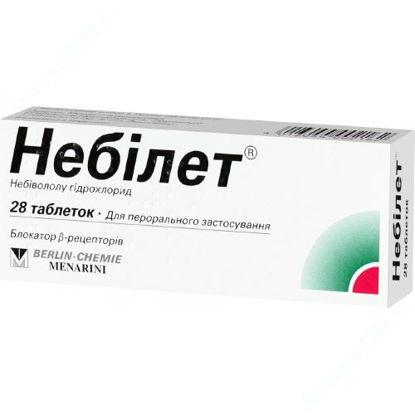 Зображення Небілет таблетки 5 мг №28