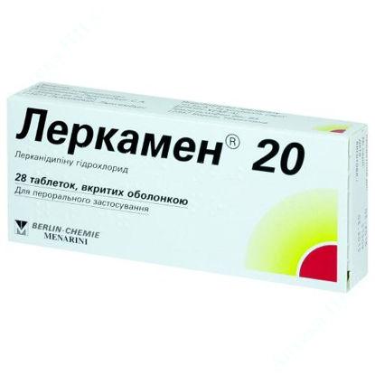 Изображение Леркамен 20 таблетки 20 мг №28
