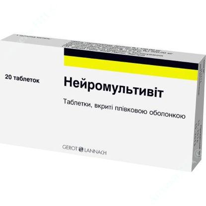 Зображення Нейромультивіт табл. в/о блістер №20