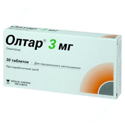 Зображення Олтар 3 мг таблетки №30