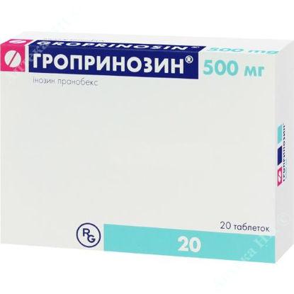 Изображение Гропринозин табл. 500 мг блистер №20