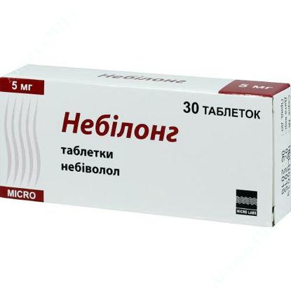 Зображення Небілонг табл. 5 мг блістер №30