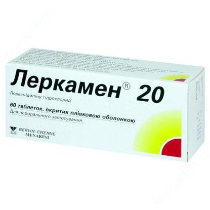 Изображение Леркамен 20, таблетки 20 мг №60