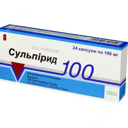 Изображение Сульпирид капс. 100 мг №24