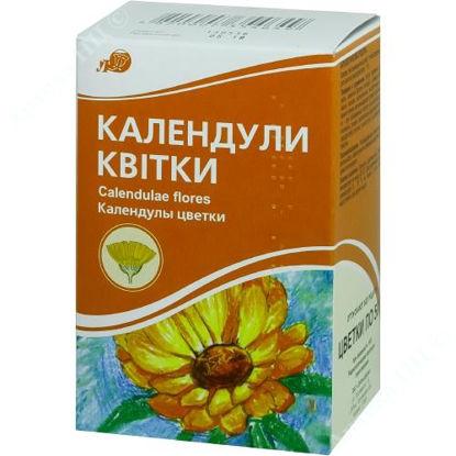 Зображення Календули квітки 50 г пачка з внутр. пакетом