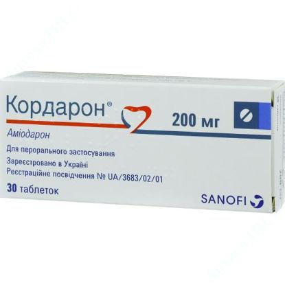 Зображення Кордарон таблетки 200 мг №30