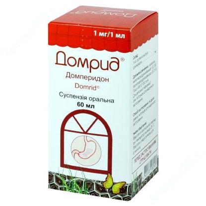 Зображення Домрид сусп. оральн. 1 мг/1мл фл. 60 мл з мірною ложкою №1