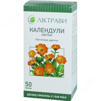 Зображення Календули квітки 50 г Ліктрави
