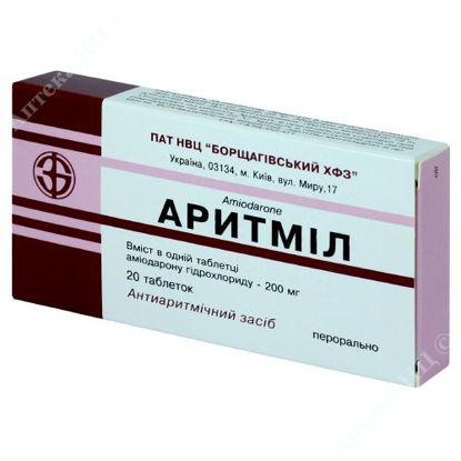 Зображення Аритміл таблетки 200 мг №20 БХФЗ