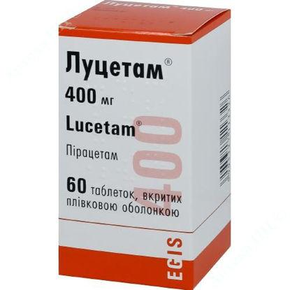 Изображение Луцетам табл. п/о 400 мг фл. №60