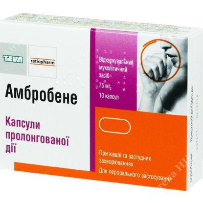 Изображение Амбробене капс. пролонг. дейст. 75 мг №10