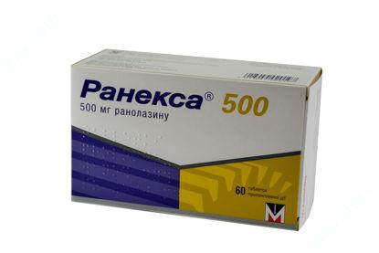 Зображення Ранекса 500 табл. пролонг. дії в/о 500 мг блістер №60