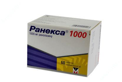Зображення Ранекса 1000 табл. пролонг. дії в/о 1000 мг блістер №60
