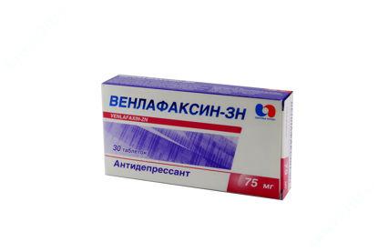 Зображення Венлафаксин-ЗН таблетки 75 мг №30
