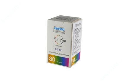 Зображення Минірин табл. 0,2 мг фл. №30
