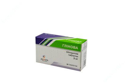 Зображення Глінова табл. 3 мг блістер №30