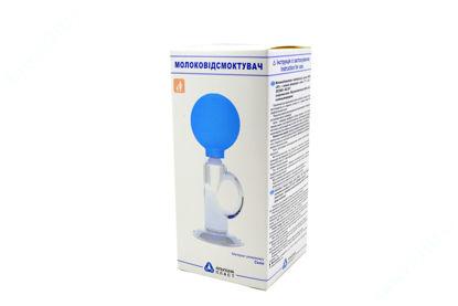 Зображення Молоковідсмоктувач індивідуальний ручний Мон-Ап зі скляним резервуаром