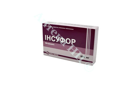 Зображення Інсуфор табл. в/о 850 мг №30