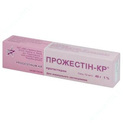 Изображение Прожестин-КР гель 10 мг/г  40 г Красная Звезда