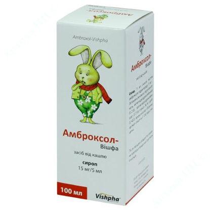 Изображение Амброксол-Вишфа сироп 15 мг/5 мл банка 100 мл