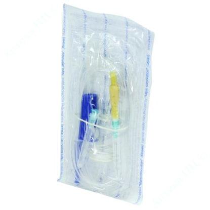 Зображення Система (пристрій) для вливання кровозамінних та інфузійних розчинів із метал. голк. №1