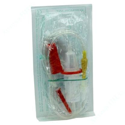 Зображення Система (пристрій) для переливання крові, кровозамінних і інфузійнних розчинів типу пк 21-02 №1