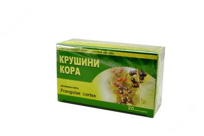 Зображення Крушини кора 1,5 г фільтр-пакет в пачці №20