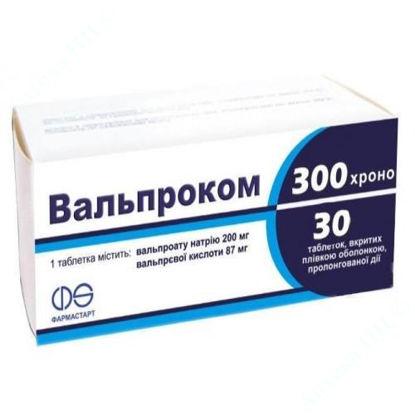Изображение Вальпроком 300 Хроно таблетки №30