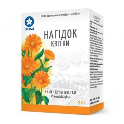 Зображення Календули квітки 25 г пакет, в пачці