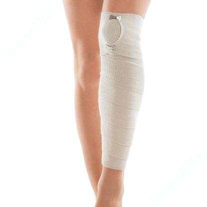 Изображение Бинт еластичний медичний з кліпсою-застібкою 10 см*2,5 м, тип ТОН-К-1-2,5-100