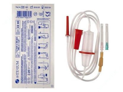 Изображение Пристрій для переливання крові, кровозамінників та інфузійних розчинів ПК 21-02 ARTERIUM®, стерильний (Україна)