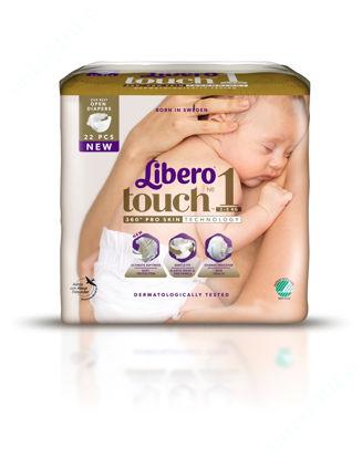 Зображення Підгузки дитячі Libero Touch 1 №22, (2-5кг)
