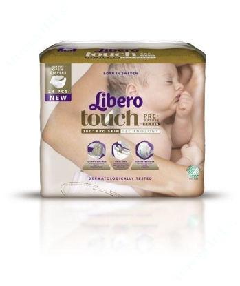 Зображення LIBERO Touch Prema, 6x24pcs Svanen FSC