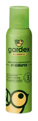 Изображение Gardex Classic Аэрозоль-репеллент от комаров 100 мл     № 1