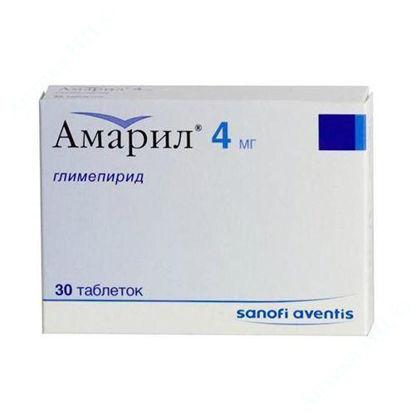 Зображення Амарил табл. 4 мг блістер №30 САНОФІ-АВЕНТІС