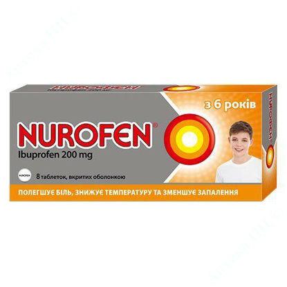 Изображение Нурофен табл. п/о 200 мг блистер №8 Реккет Бенкизер