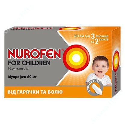 Изображение Нурофен для детей супп. ректал. 60 мг блистер №10 Реккет Бенкизер