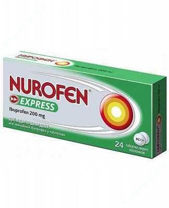 Изображение Нурофен Экспресс табл. п/о 200 мг №24 Реккет Бенкизер