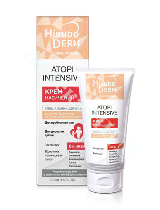 Зображення HD АTOPI INTENSIVE насичений крем для сухої, дуже сухої та схильної до атопії шкіри, 100 мл     № 1
