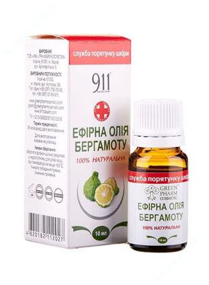 Зображення Ефірна олія Бергамоту 10 мл Грін Фарм