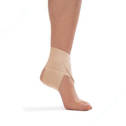 Зображення Бандаж для гомілкоступневого суглобу, еластичний, бежевий, розмір 4, тип 410