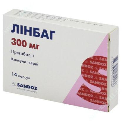 Изображение Линбаг капсулы 300 мг №14