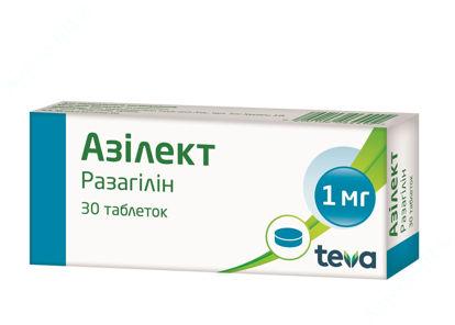 Изображение Азилект таблетки 1 мг №30