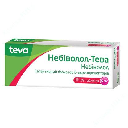 Зображення Небіволол-Тева таблетки 5 мг №28