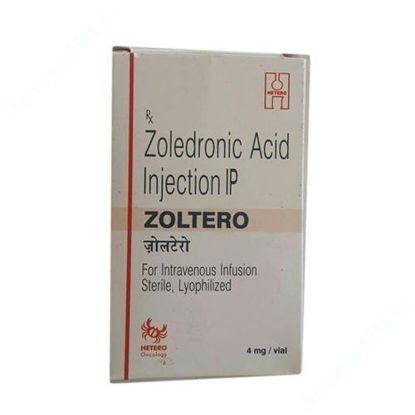 Зображення Золтеро, концентрат для розчину для інфузій, по 4 мг/5 мл, фл. №1