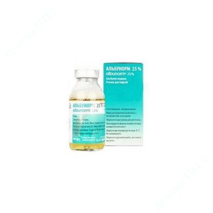 Изображение Альбунорм 25% раствор для инфузий 50 мл № 1