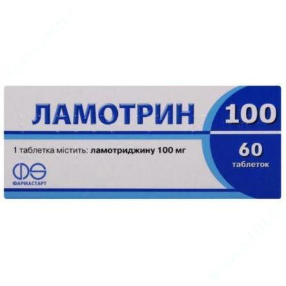 Зображення Ламотрин 100 таблетки 100 мг  №60 Асіно Україна